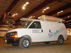 Audiomatrix, Inc. | Service Van